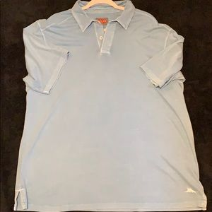 Super soft xl blue short sleeved shirt